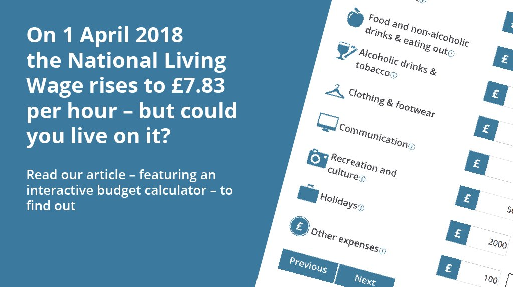 ons on twitter could you live on the national living wage use our