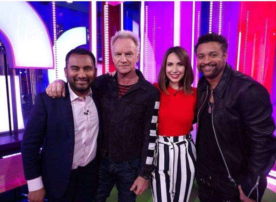 https://t.co/zBPz82l8eQ fun with @DiRealShaggy on @BBCOne https://t.co/wezbxkwTgD