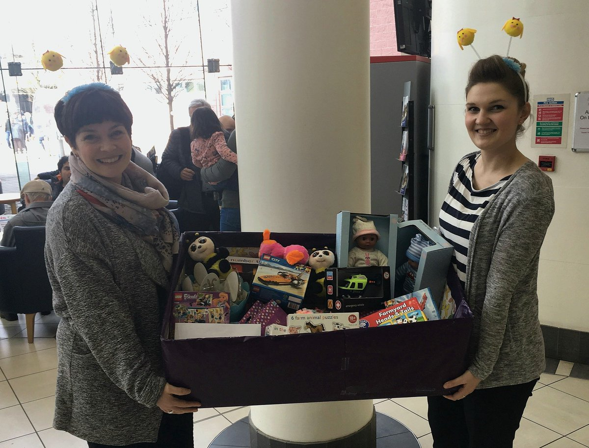 Galliford try construction on twitter have just delivered 30 gifts to children at nhsuhcw our staff donations also included 169 easter eggs for foodbanks to be distributed to local disadvantaged children negle Image collections