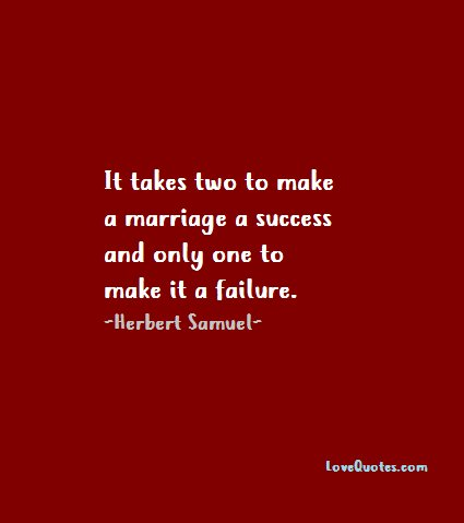 Lovequotescom On Twitter It Takes Two To Make A Marriage A