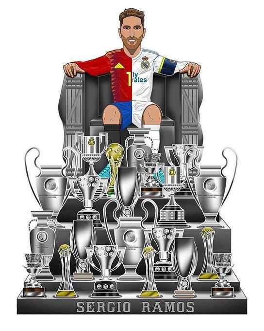 Happy Birthday Sergio Ramos. .