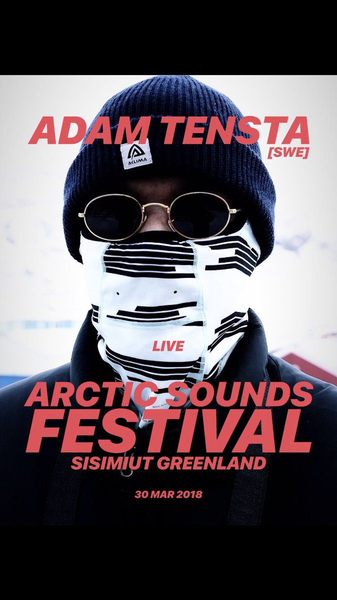 Live at Arctic Sounds Festival Sisimiut 🇬🇱 tonight.