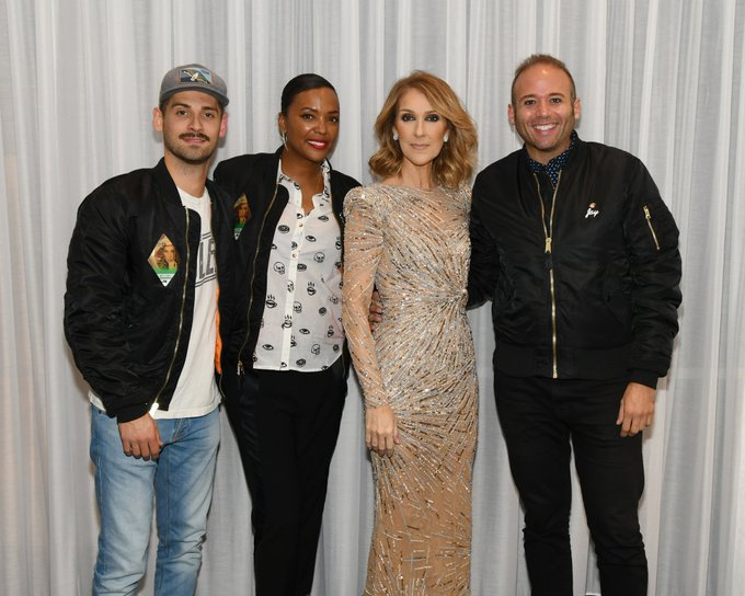 Happy 50th birthday to my close, personal friend Celine Dion
