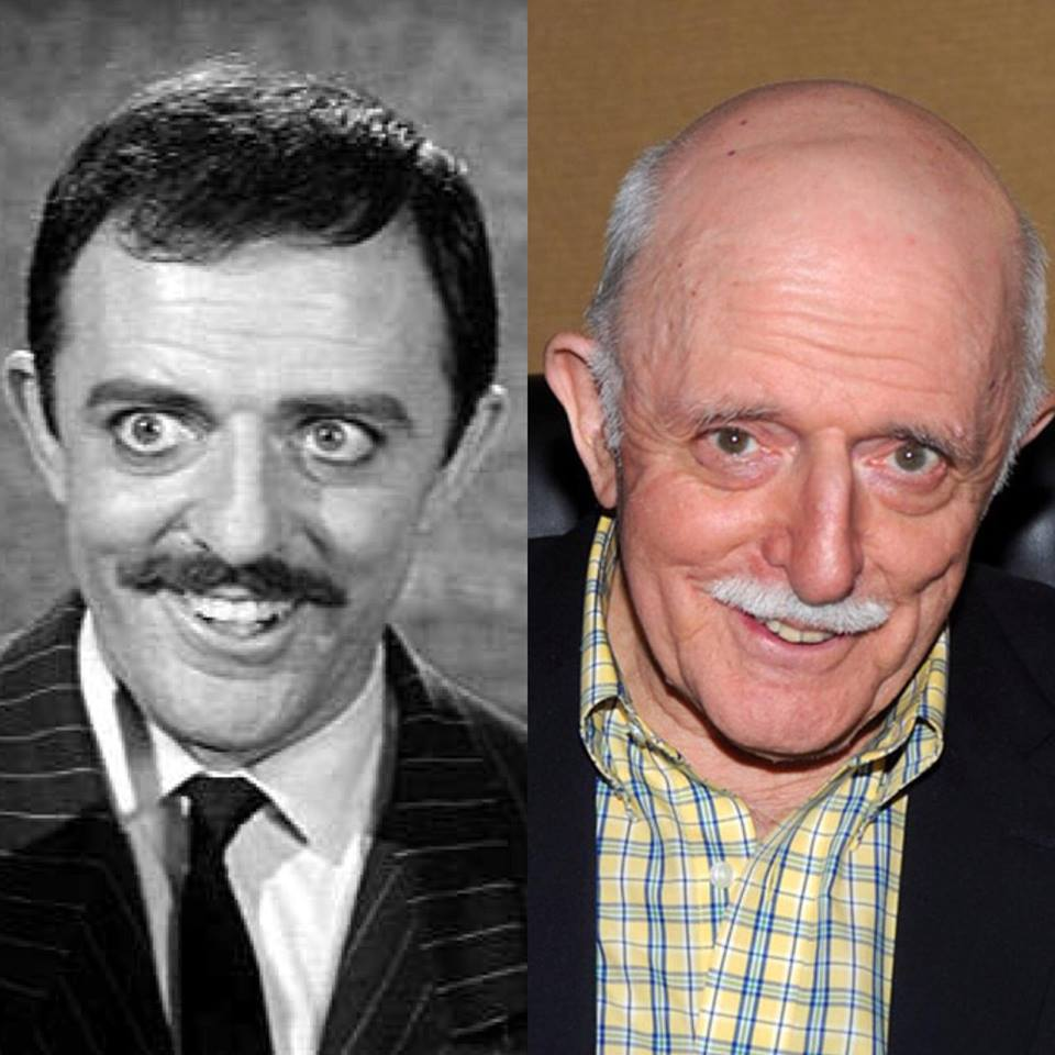 HUGE Happy Birthday to the wonderfully talented John Astin who played Gomez Addams, on turning 88 today!