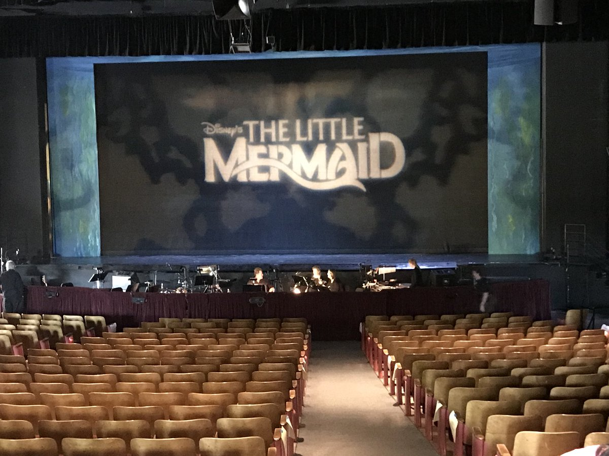 The Little Mermaid in the Richard R Stover Music Hall