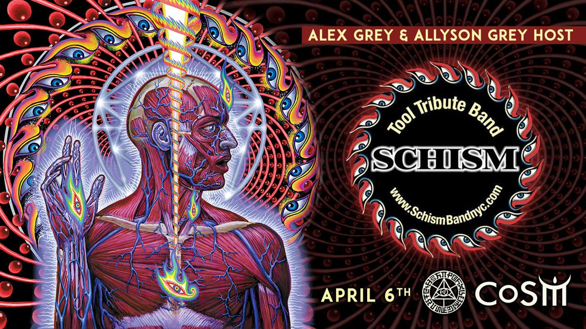 tool effing tool on twitter lots of alex grey cosm tool related