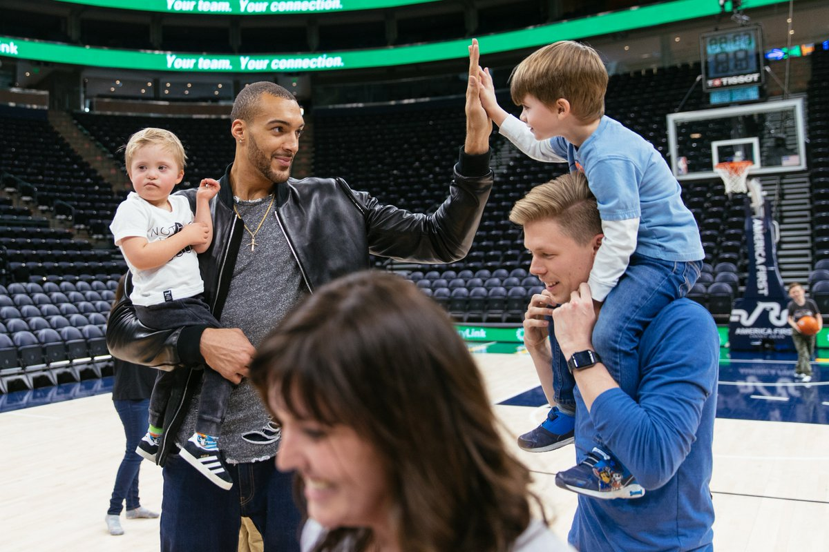 We had the privilege of opening a sensory room at @vivintarena with the help of Utah Jazz center Rudy Gobert! Now kids with autism and other sensory processing needs have a place to relax, breathe, and feel at home during an NBA game. #VivintGivesBack