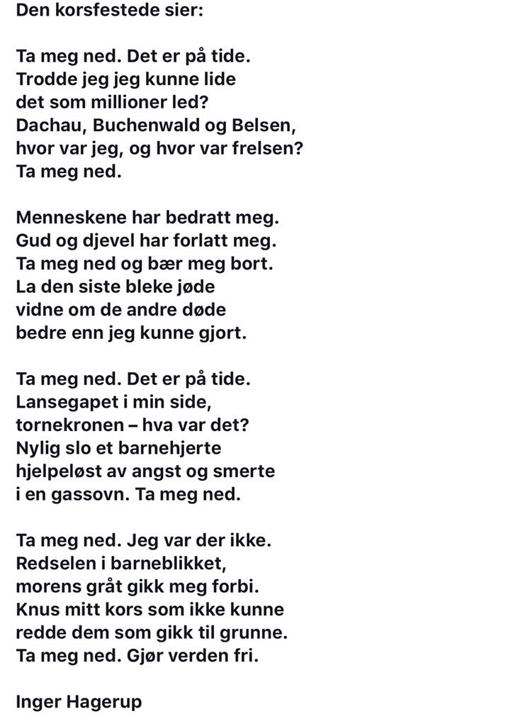 Dikt Av Inger Hagerup