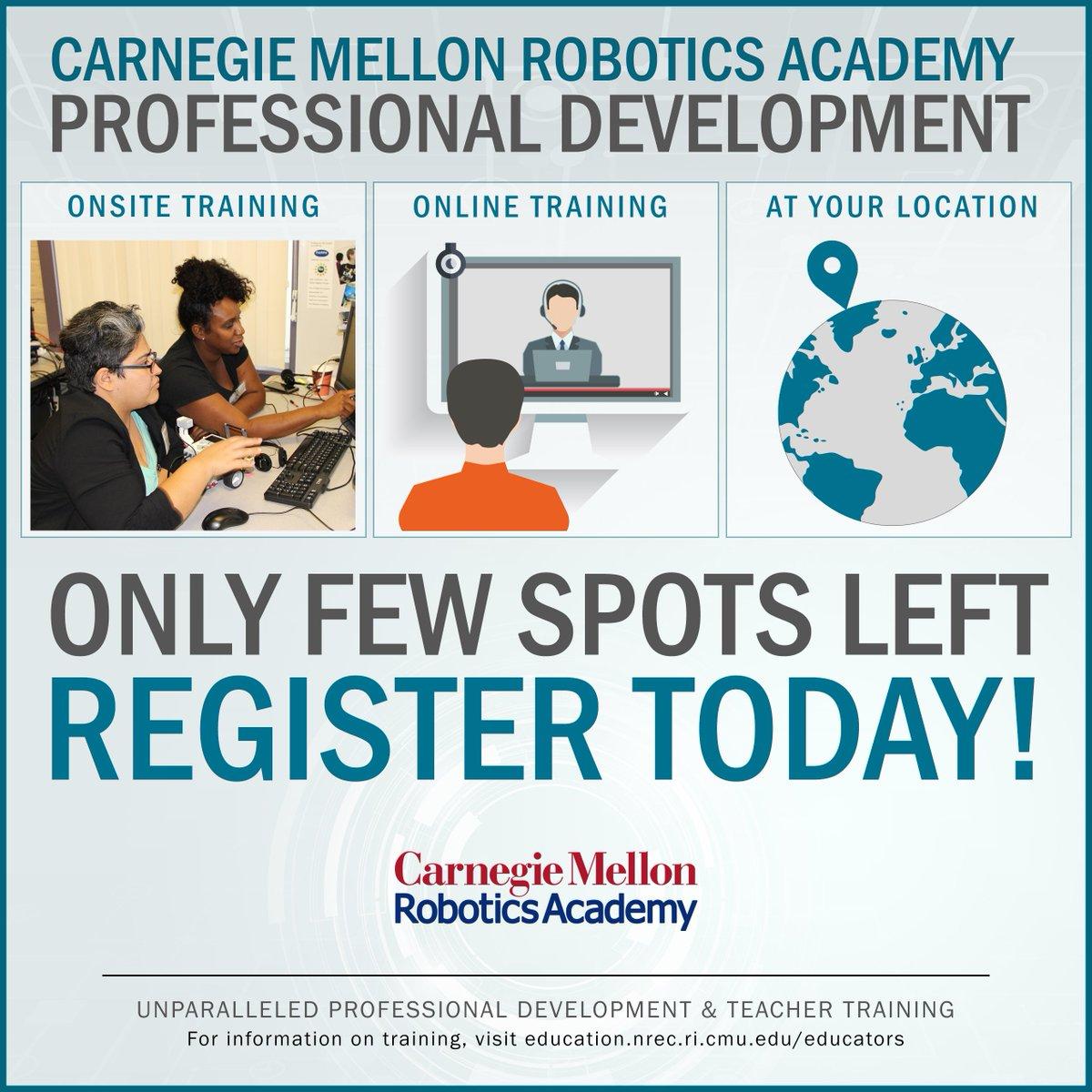 Carnegie Mellon Robotics Academy On Twitter Attention Teachers