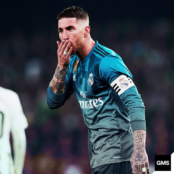 Happy birthday, Sergio Ramos! In his career:  - 243 yellow cards.  - 24 red cards.  - 32 birthday cards!