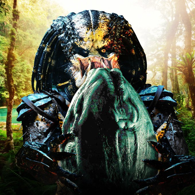 RT @Predator: SPOILER: There isn't money or candy in that egg. #HappyEaster https://t.co/HCMVa7HPGq