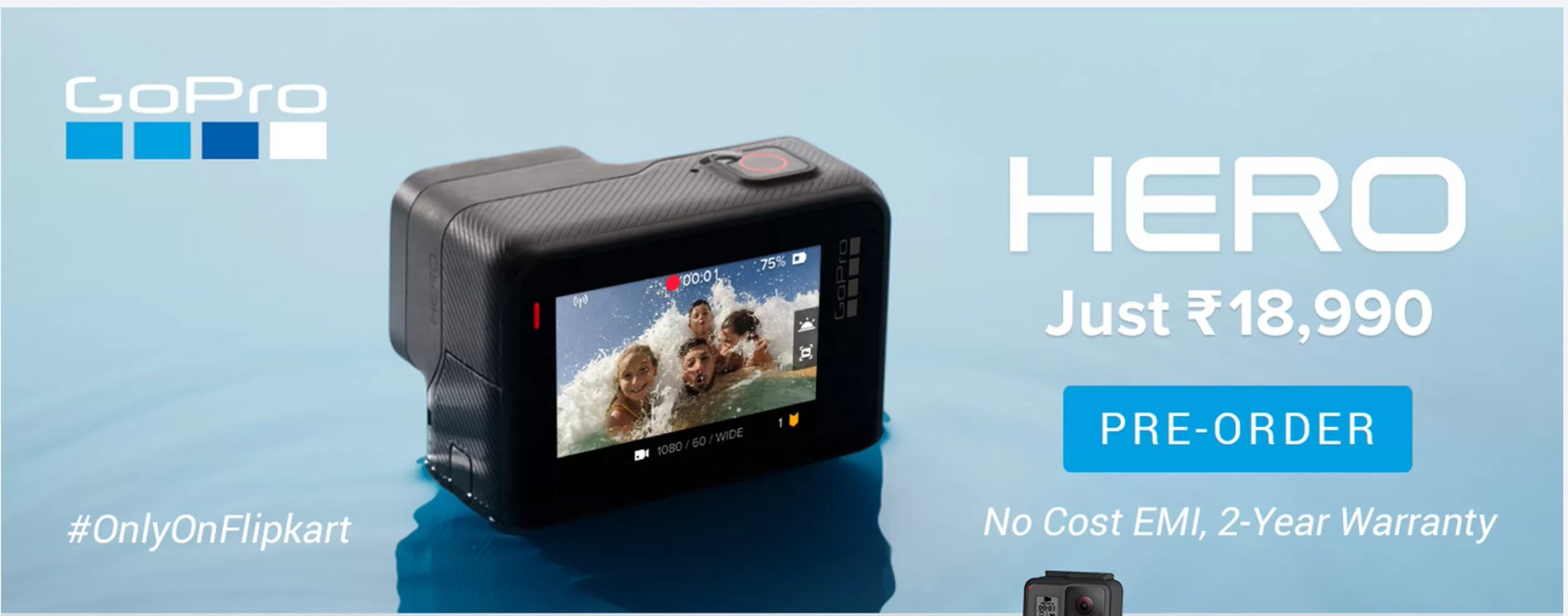 GoPro HERO sports action camera Features, Specifications, Price and Release Date