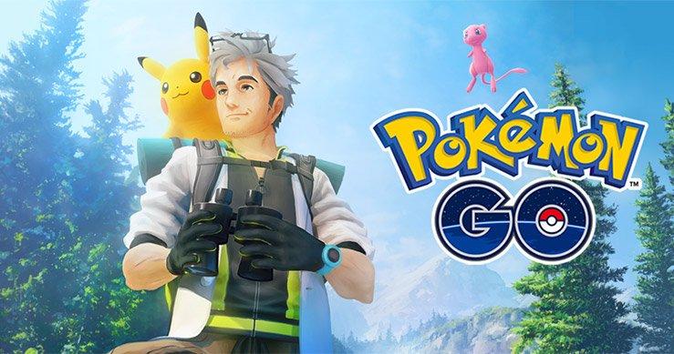 """Imagen de """"Investiga sobre Mew en Pokémon GO"""" de la página oficial de Pokémon"""
