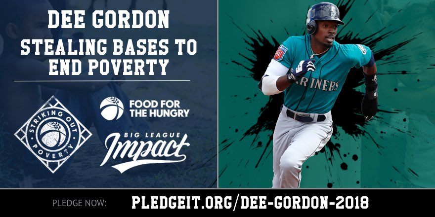 I'm excited to announce that I'll be representing @koutpoverty @BigLeagueImpact @food4thehungry to help some of the world's most vulnerable people, #SyrianRefugees. Please join me by making your pledge per steal today!https://t.co/o6FUbOc3R2 #EndPoverty