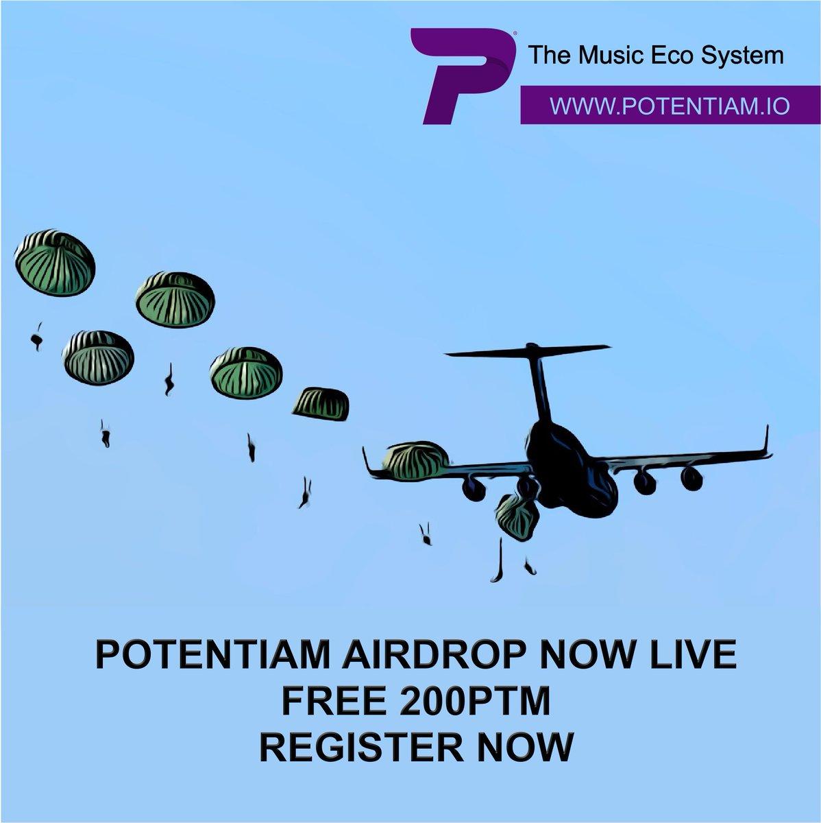 Airdrop Potentiam