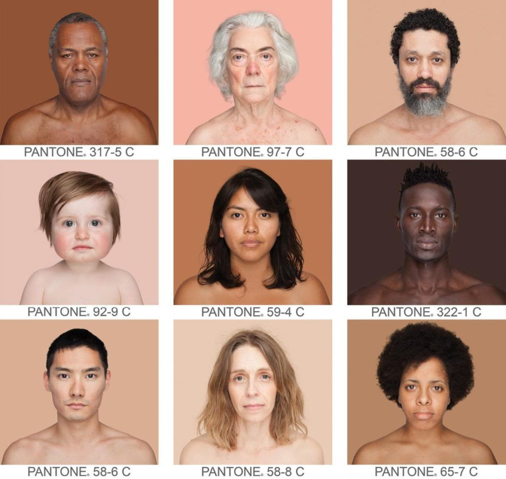How many colors are there in the human rainbow? Angélica Dass has spent years photographing people of every color, matching subjects' skin tones to Pantone printing color chart hues. The project is featured in this month's issue of @NatGeo Learn more here: https://t.co/dnOu0fGjuZ