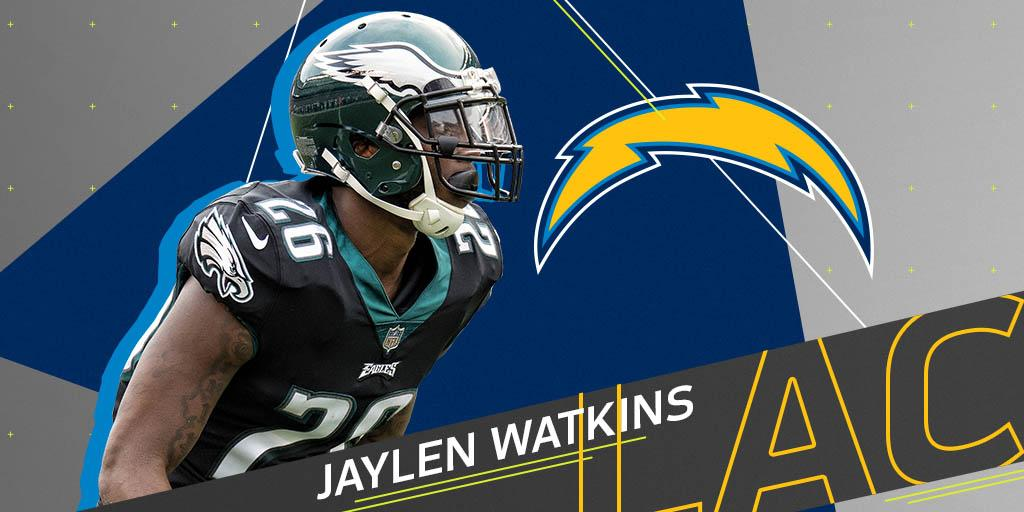 Former Eagles DB Jaylen Watkins (@jwat14) signs one-year deal with @Chargers: https://t.co/hVvzu1wPif https://t.co/CZ6s2VFYqp