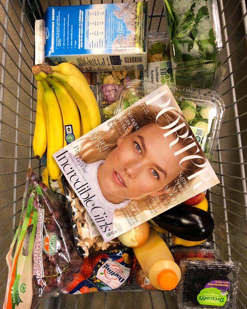 Karlie Kloss On Twitter Look What I Found Portermagazine
