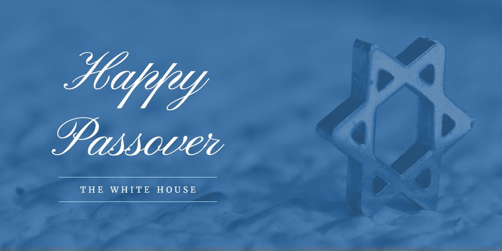 "the white house on twitter: ""happy passover!… """