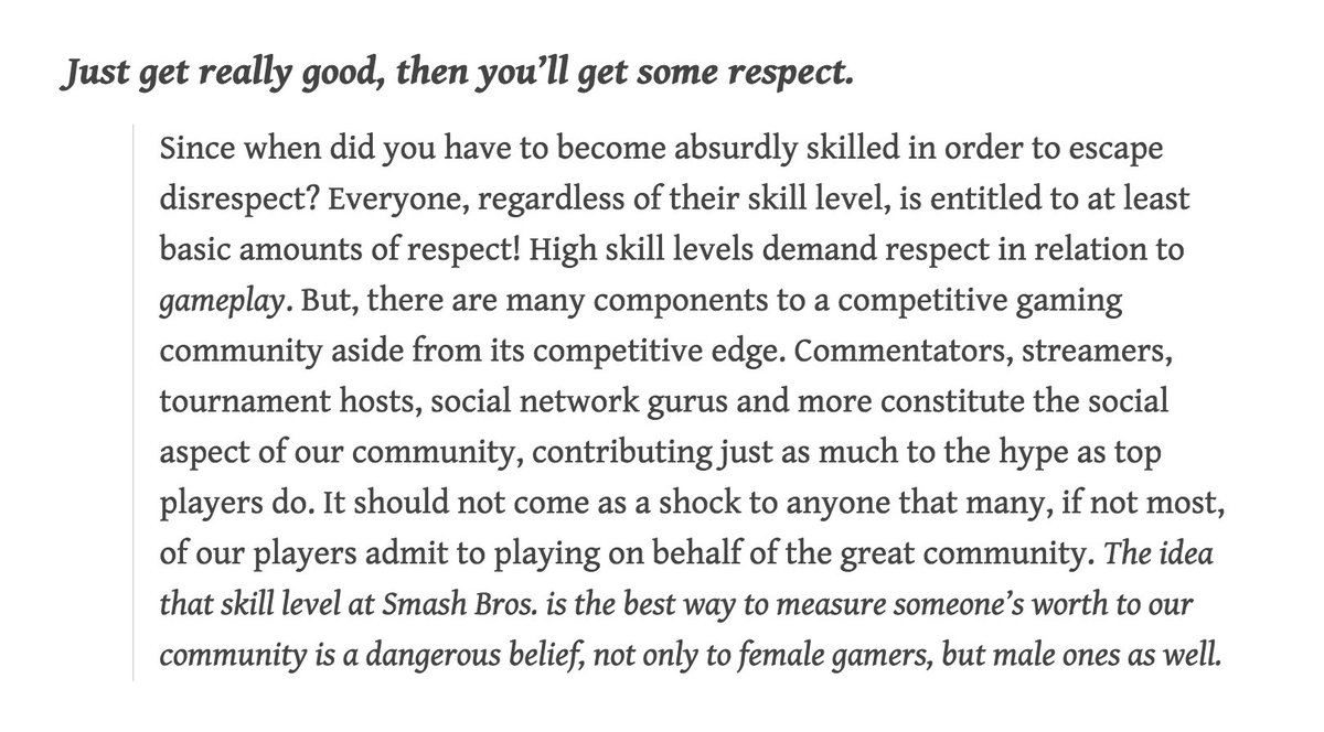 competitive online gaming community essay The gamergate controversy concerns described as a rambling online essay in homophobia and misogyny that existed within the online gaming community.