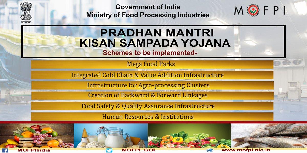 Image result for Pradhan Mantri Kisan Sampada Yojana