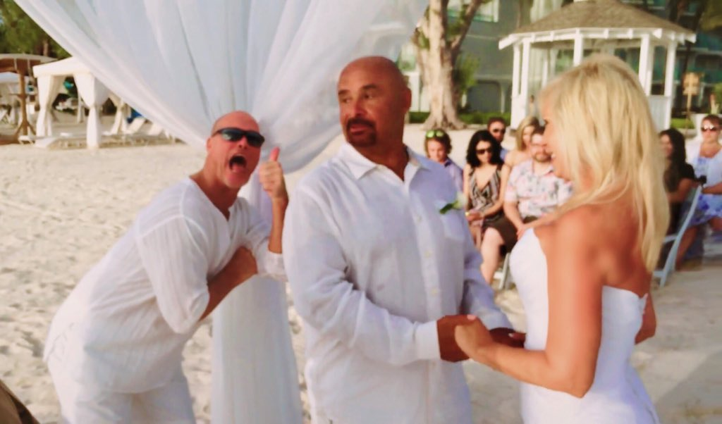 Robbie Gould Wedding