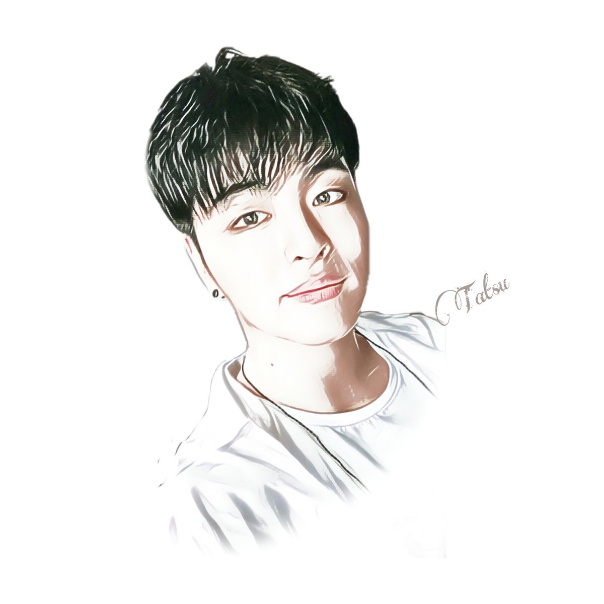 """""""If you give up, the battle ends there."""" Junhoe. Happy Birthday our Diva!   #PoetJunhoeDay #준회야_널_방울방울해 #June #준회 #iKON #fanartiKON #fanart<br>http://pic.twitter.com/8tHv3ysFBN"""