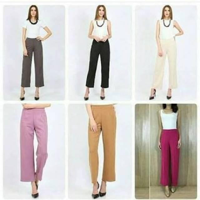 Saya menjual Celana kulot wanita panjang celana panjang wanita celana  santai wanita mejikuu seharga Rp80.000. Dapatkan produk ini hanya di  Shopee! ... 6a52449ce4