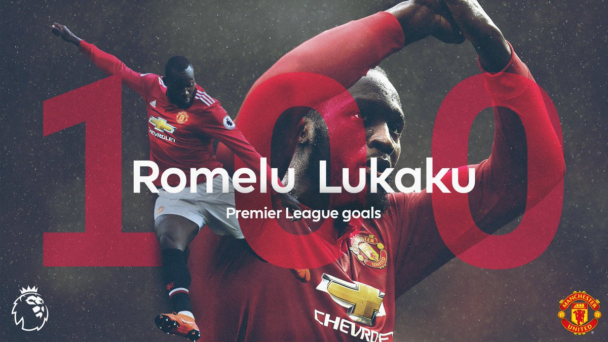 Welcome to the #PL 💯 club, @RomeluLukaku9! 🙌  #MUNSWA @ManUtd