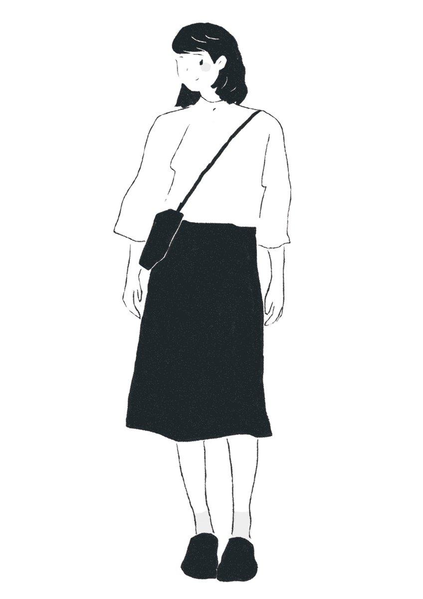 ゆきまる No Twitter シンプル Illustration Photoshop Daily Girl Simple Fashion 女の子 シンプル イラスト好きな人と繋がりたい