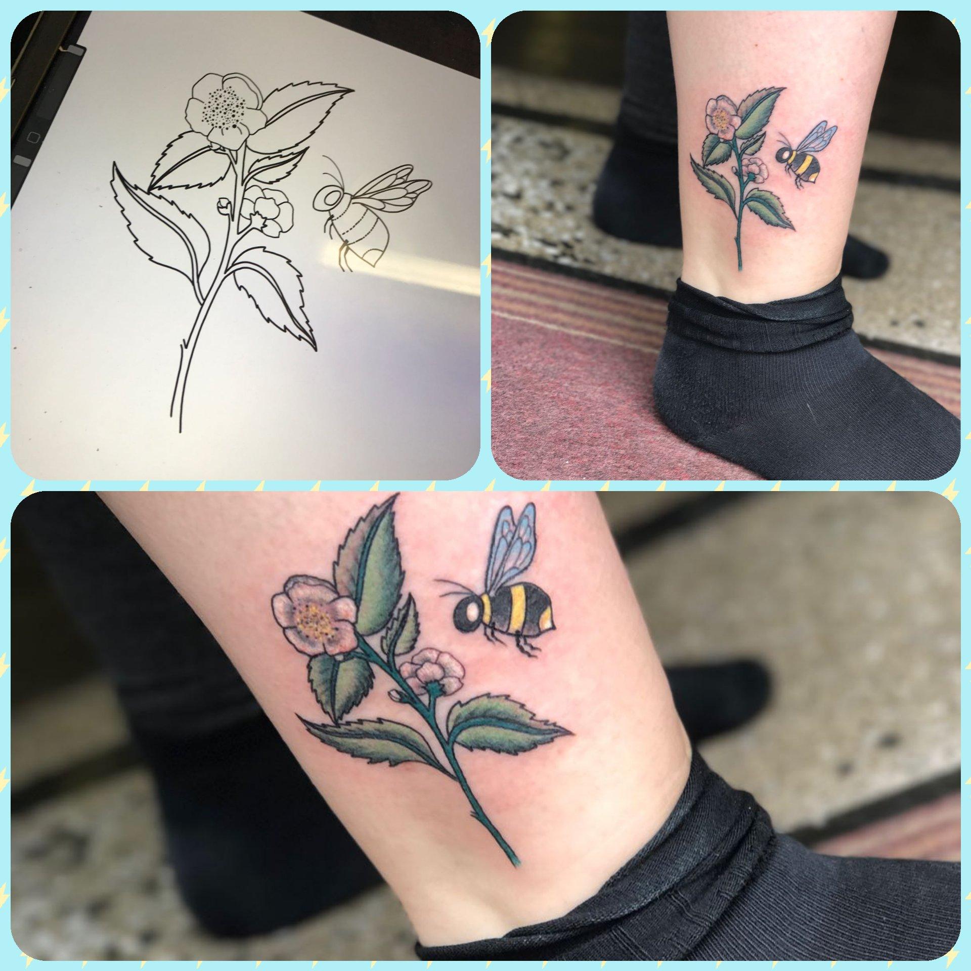"""Carpe Diem Tattoo Ankle carpe diem tattoo on twitter: """"line drawing to finished"""