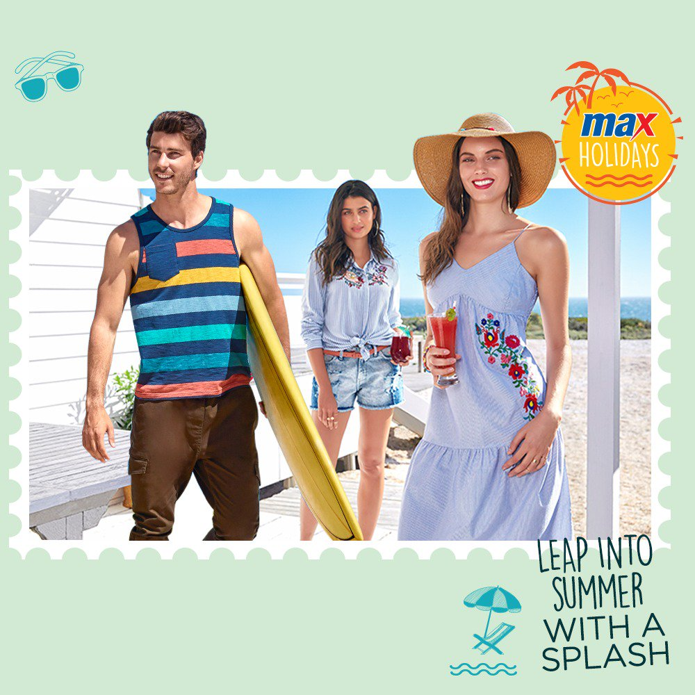 76e99a2b19de Get set to take the soaring temperatures in style with a super fresh Summer   18 collection from Max Fashion! Available IN-STORES and ONLINE.