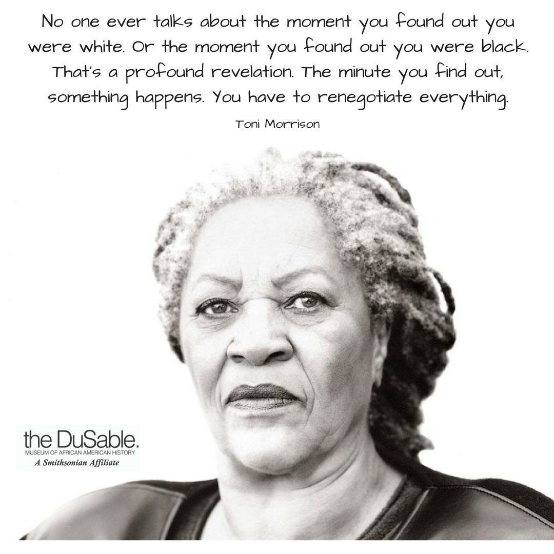 toni morrison and historical memory My project is to examine how toni morrison's acclaimed historical novel beloved (1987) enacts a hybrid vision of history and time that sheds new light on issues addressed by jameson and hutcheon in their theories of the postmodern - topics such as the fictionality of history, the blurring of past and present, and the questioning of grand.