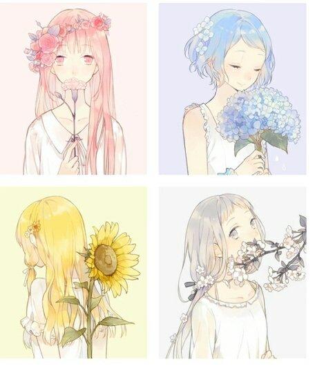 Violett On Twitter Spring Anime Kawaii Aesthetic Otaku