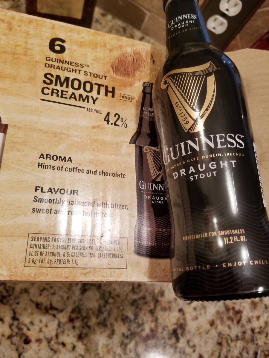 Austin Reed On Twitter Costco Bought Your Irish Heritage Pack And Says It Comes With 6 12oz Bottles Of Delicious Guinness Yet When I Opened The Case They Are 6 11 2oz Bottles