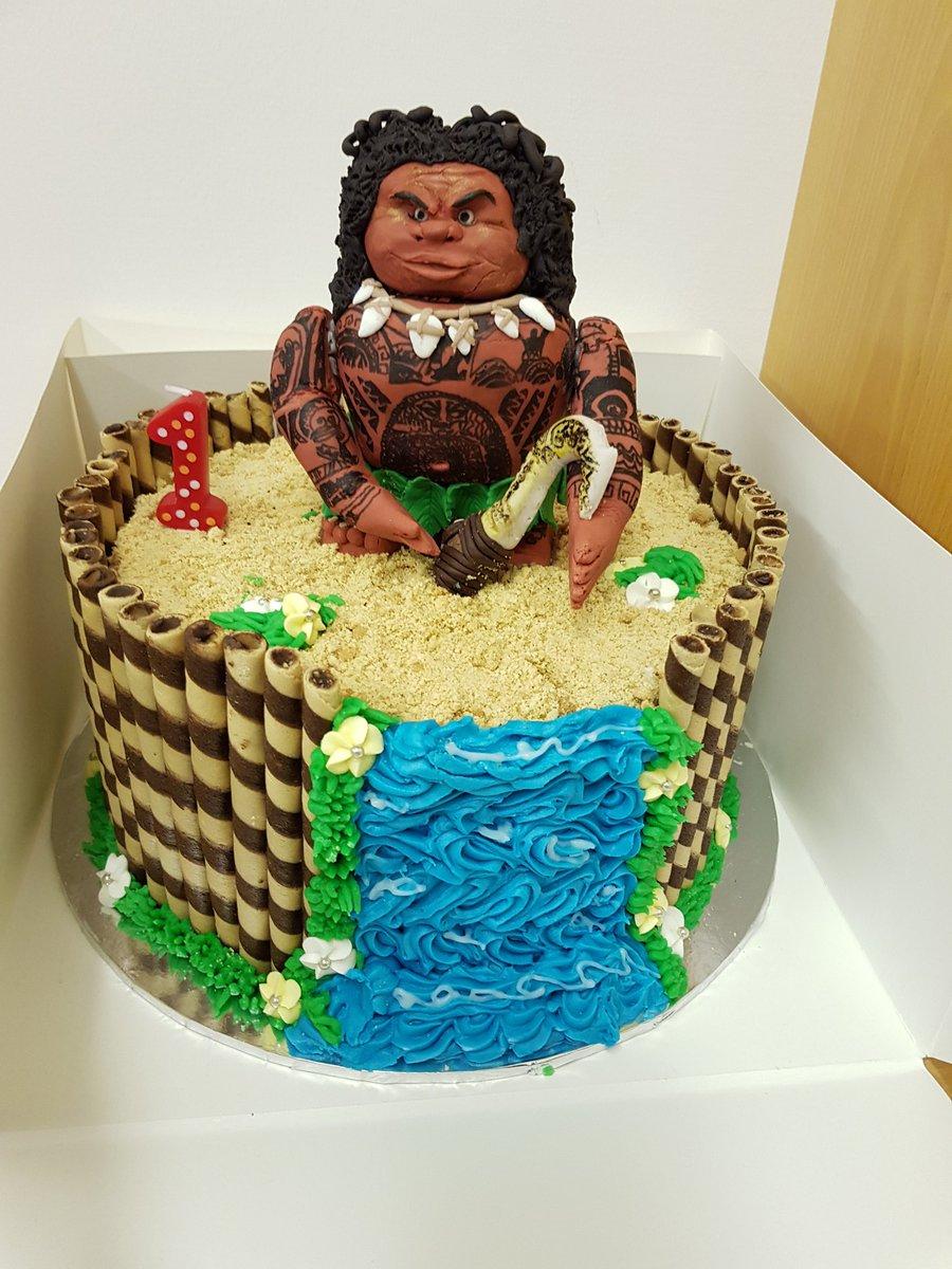 Mrs C On Twitter My Handmade Maui Cake For My Grandsons 1st