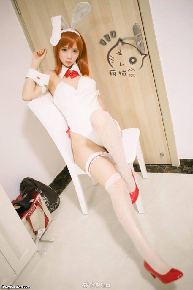 Sexy Fandom: Have Some Bunny Mikoto https://t.co/prrrAXDJpg...