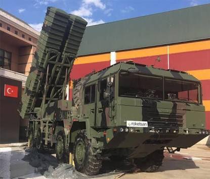 Roketsan التركية تجري إختبار رماية للصاروخ الباليستي BORA تمهيدا لإدخاله للخدمة. DZogC3KX0AIVnnK