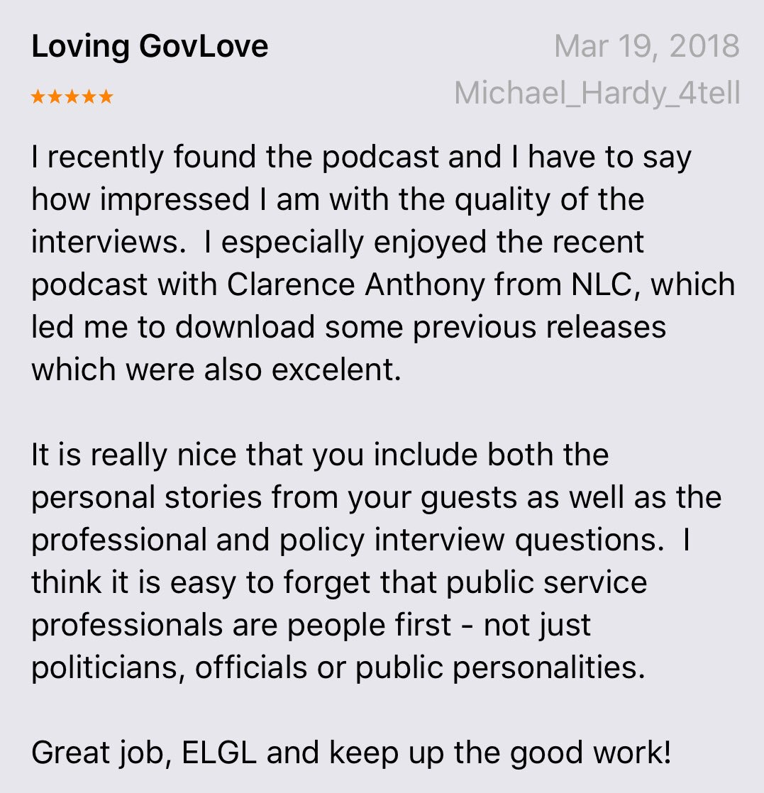 So Far Were Keeping Up Nicely With Last >> Elgl On Twitter We Love The Award Winning Govlovepodcast