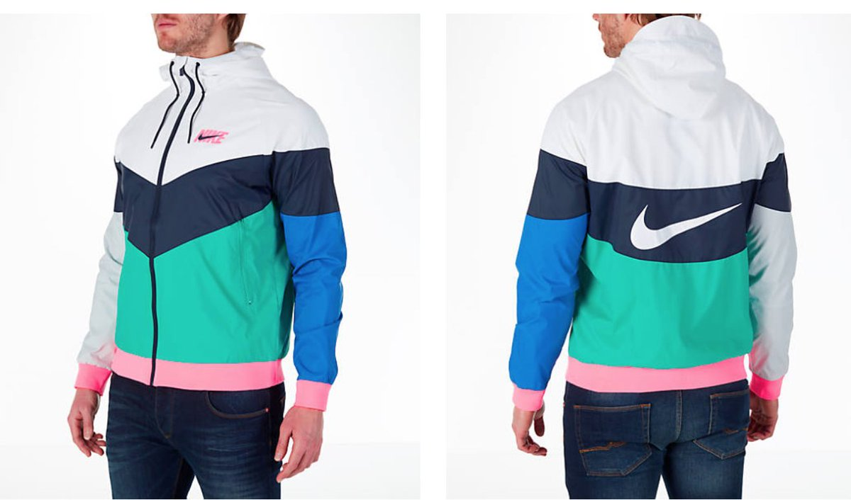 1b19e41c97 Nike Sportswear Windrunner Jacket  SOUTH BEACH  now only  70 with code  LUCKY5 at checkout BUY HERE  http   bit.ly 2Gib09R  pic.twitter.com GCzs8QW76m