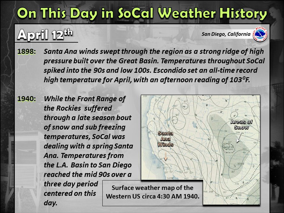 NWS San Diego on Twitter: