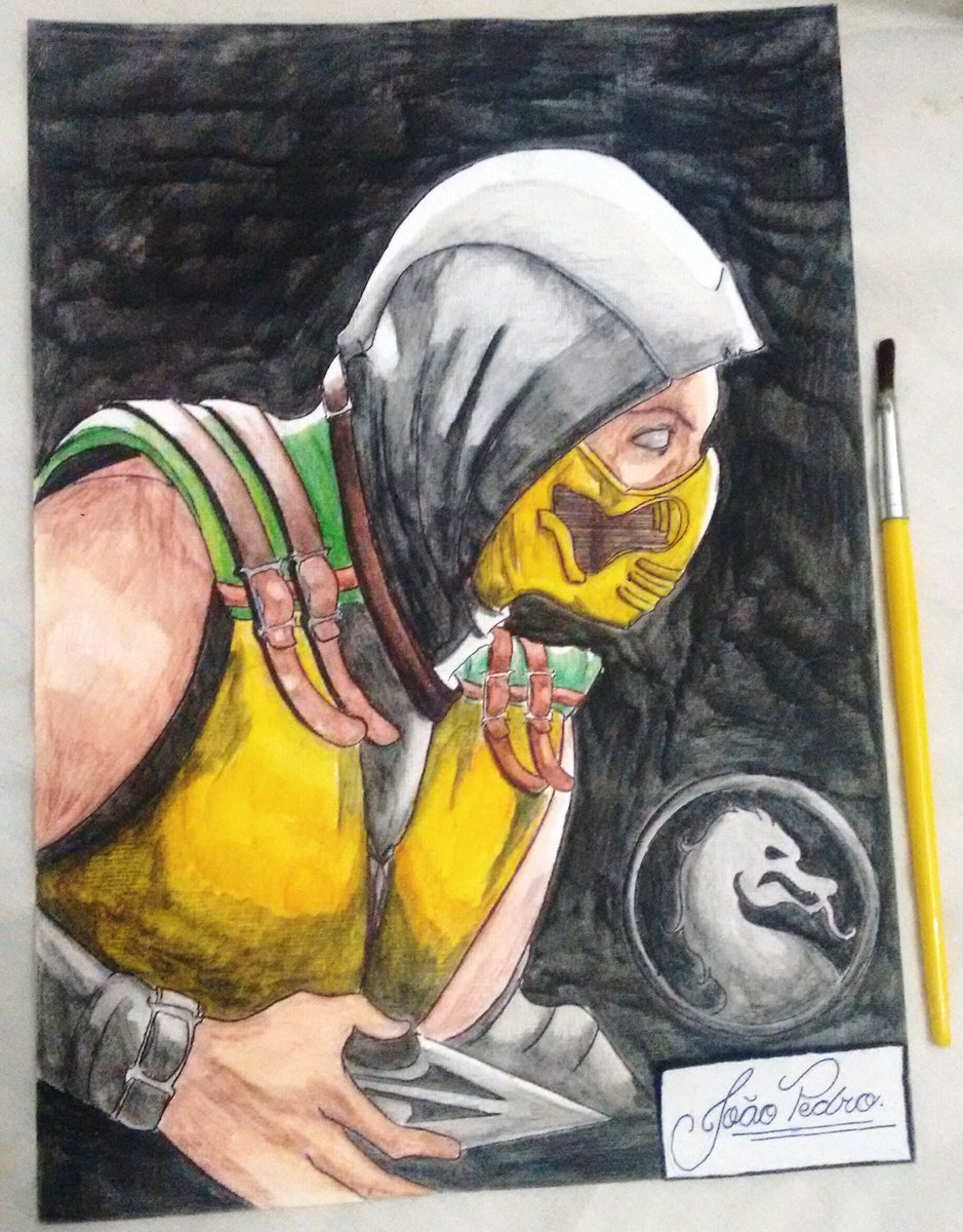 Joao Pedro On Twitter Get Over Here Scorpion Mortal Kombat