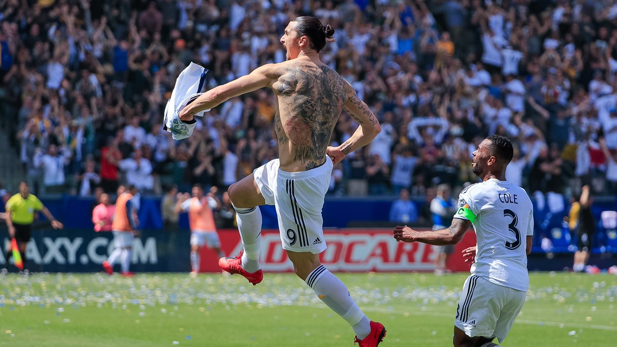 Zlatan: One year ago today, Zlatan made his MLS debut like