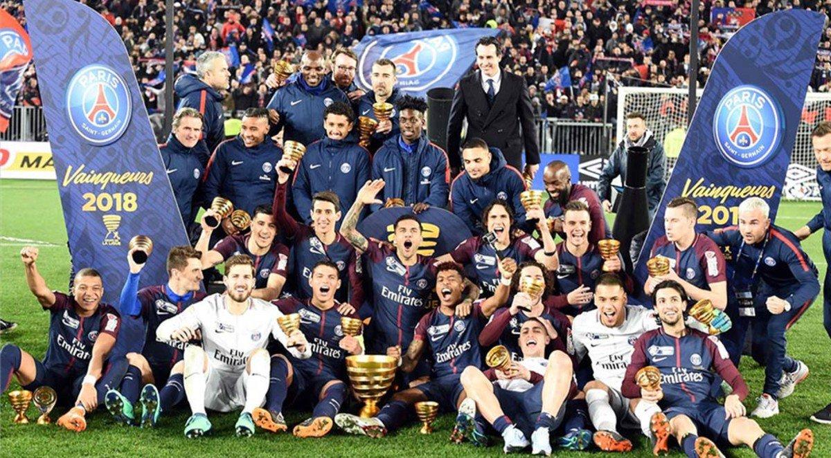 Fútbol | Di María anotó en la consagración del PSG en la Copa de la Liga de Francia
