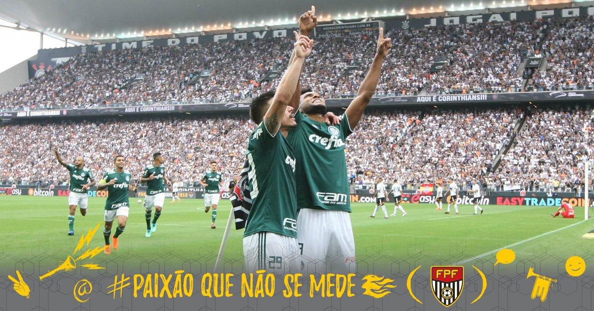 Palmeiras derrota  Corinthians e larga na frente da decisão -  https   t.co LIhPIOvbf3  PaixãoQueNãoSeMede  FPF  EsseÉoMeuJogo   FutebolPaulista ... d7fd2d8e0ce4c