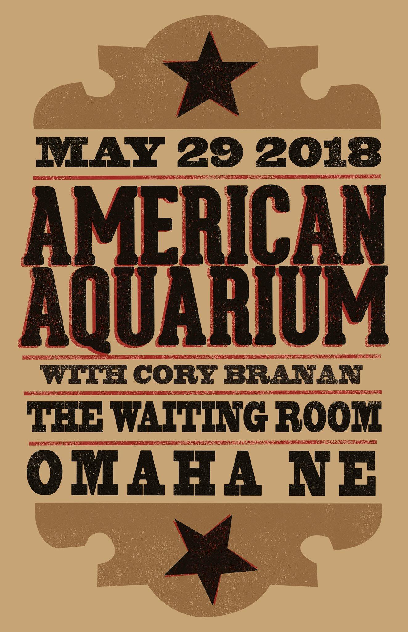 "American Aquarium on Twitter: ""Nebraska!!! Stoked to ..."