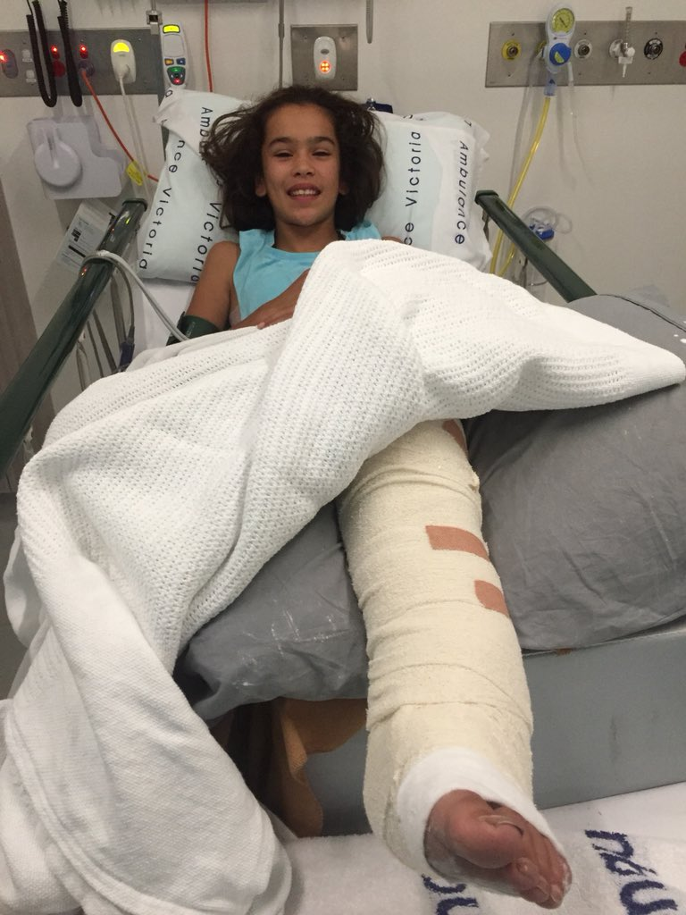 Two Broken Legs And Arms