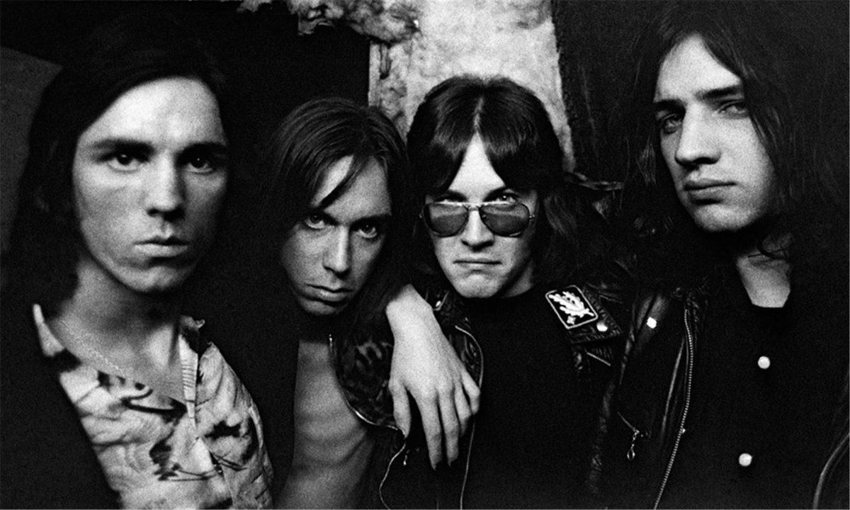 """Brian Eno News on Twitter: """"The Stooges, 1973: James Williamson, Iggy Pop, Ron Asheton and Scott Asheton by @TheRealMickRock #music #history https://t.co/8yrj4EnyHY… https://t.co/fnotrnadKq"""""""
