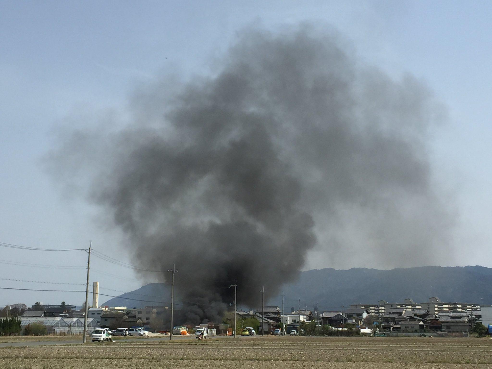 画像,京都。火事ダョ~。 https://t.co/JNHdV6KYHt。