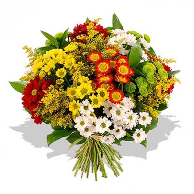 Открытки с днем рождения букеты с хризантемами